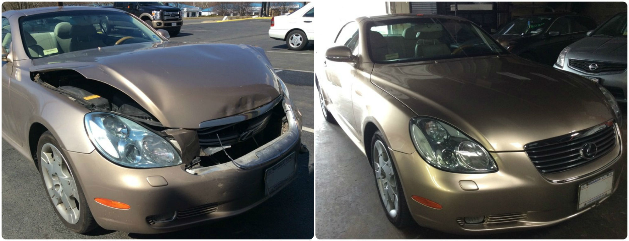 Lexus Sc Before And After