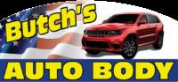 Butchs Auto Body Logo